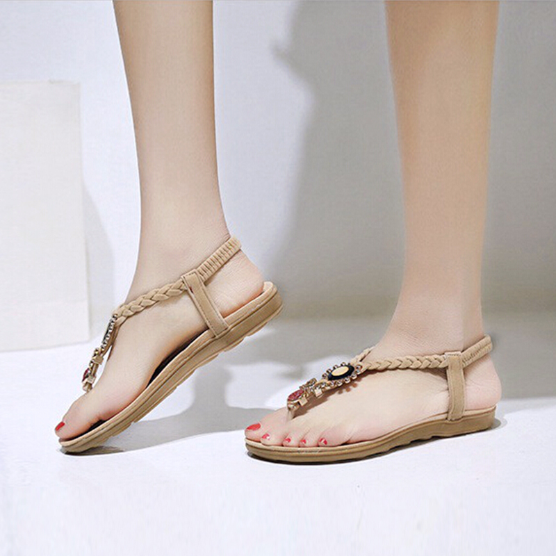 Find and save ideas about Womens summer shoes on Pinterest. | See more ideas about Spring sandals, Fitness shoes and Spring heel shoes. flat sandals for women summer shoes sandals rhinestone fashion the sandals.