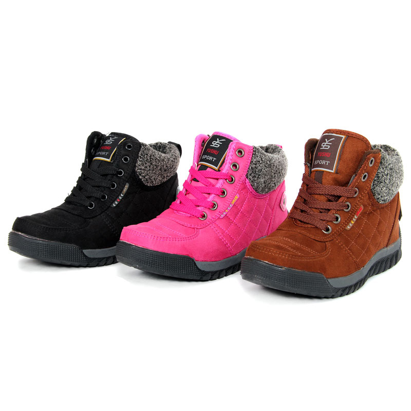 XWN0093-5 Hot Sale Women Winter Warm Snow Boots Hiking ...