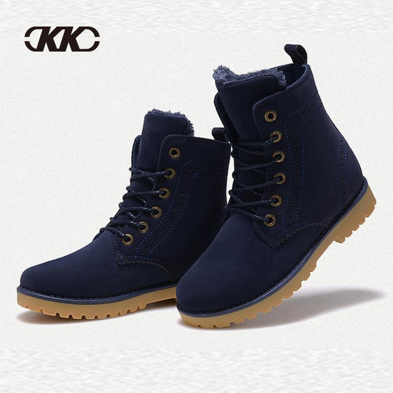 2015 fashion winter shoes women's winter suede boots for men ...
