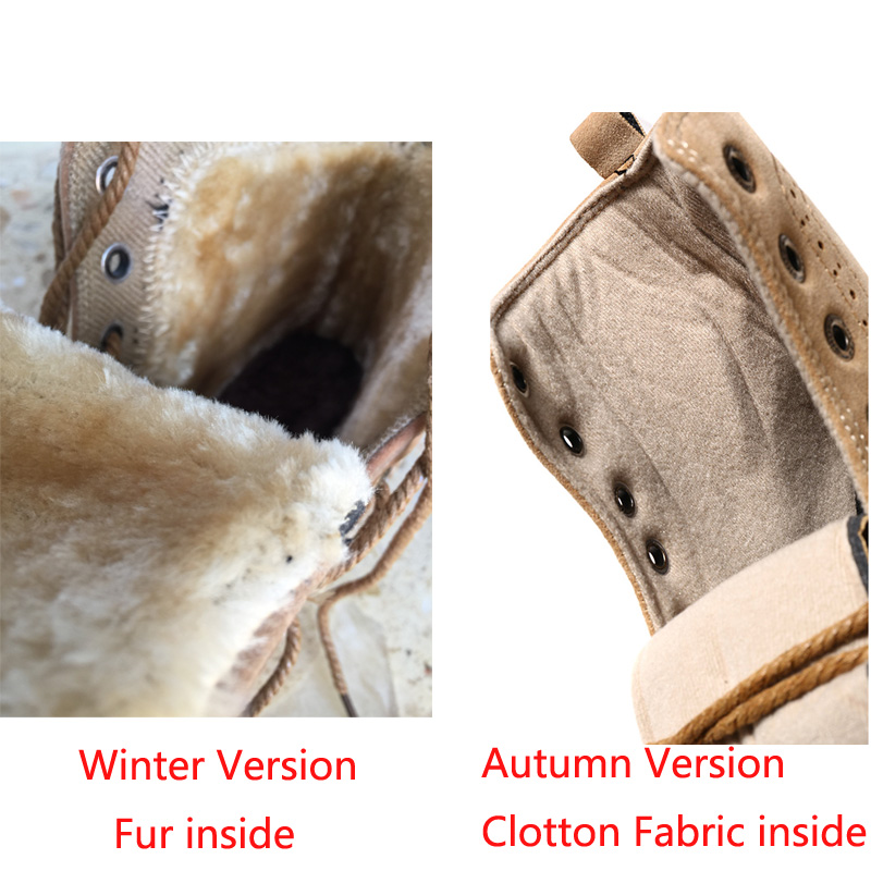 7f055130232 2015 fashion winter shoes women's winter suede boots for men ladies snow  boot botines mujer chaussure femme