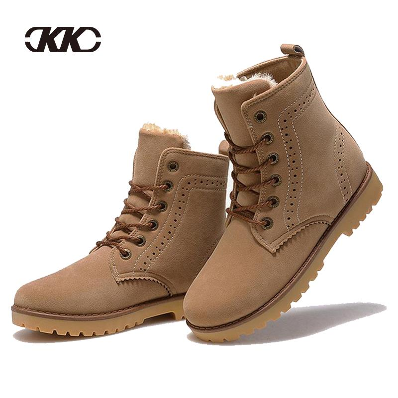 2015 Fashion Winter Shoes Womenu0026#39;s Winter Suede Boots For Men Ladies Snow Boot Botines Mujer ...