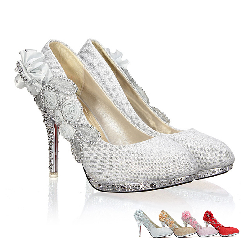 Butterfly Wedding Shoes Bridal