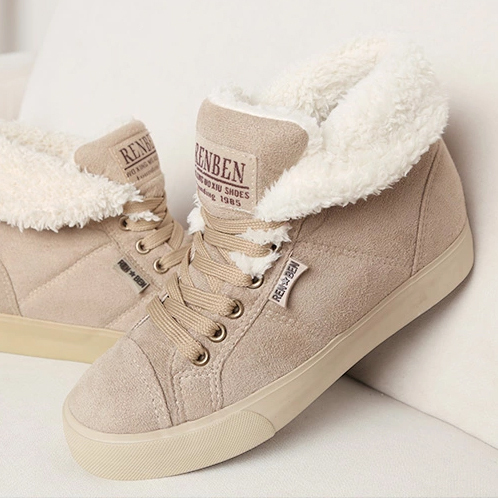 2013 fur inside fashion lady sexy female woman flat warm ...