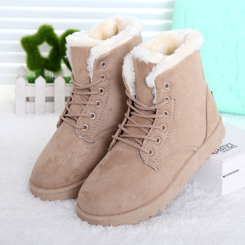 Beautiful New Snow Boots Winter Women Fashion Ankle Boots For Women Shoes Winter