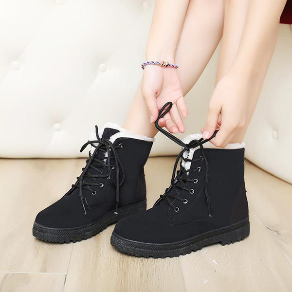 Cool Womens Military Combat Studded Boot Lace Up Women Fashion Boots Shoes