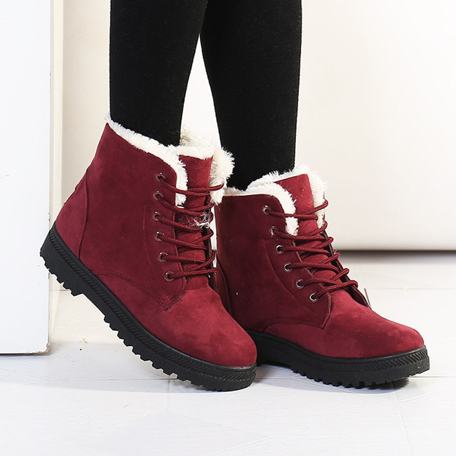 5d289bea3eb Women boots botas femininas 2015 new snow boots winter women fashion ankle boots  for women shoes winter botines martin boots