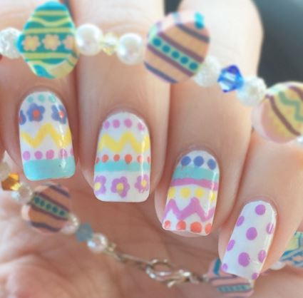 Easter Egg Manicures Are the Cutest, 12 Most Colourful Spring Nail Idea