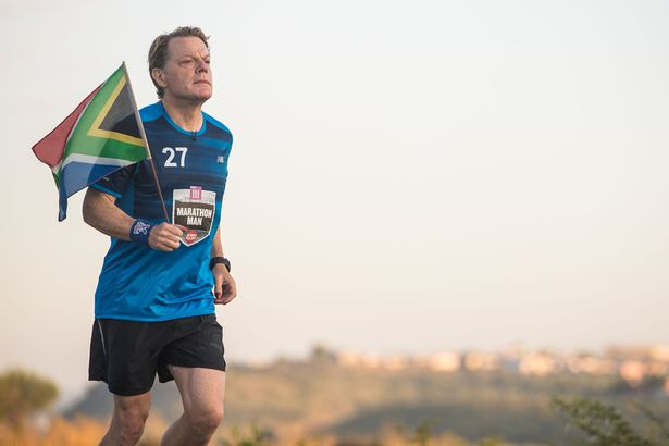 Eddie Izzard attempts to run 27 marathons in 27 days!