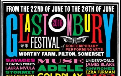 Glastonbury 2016: line-up poster revealed