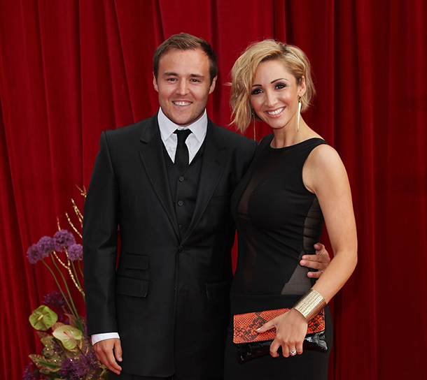 Coronation Street couple Alan Halsall and Lucy-Jo Hudson announce split