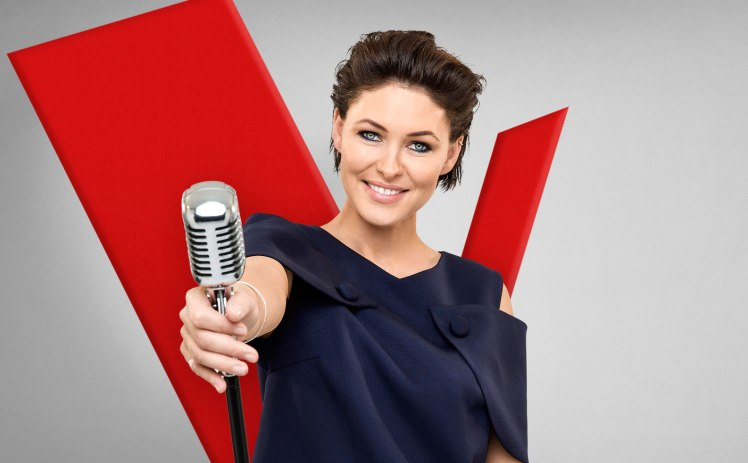 Medics on standby at The VoiceUK in case Emma Willis goes into labour