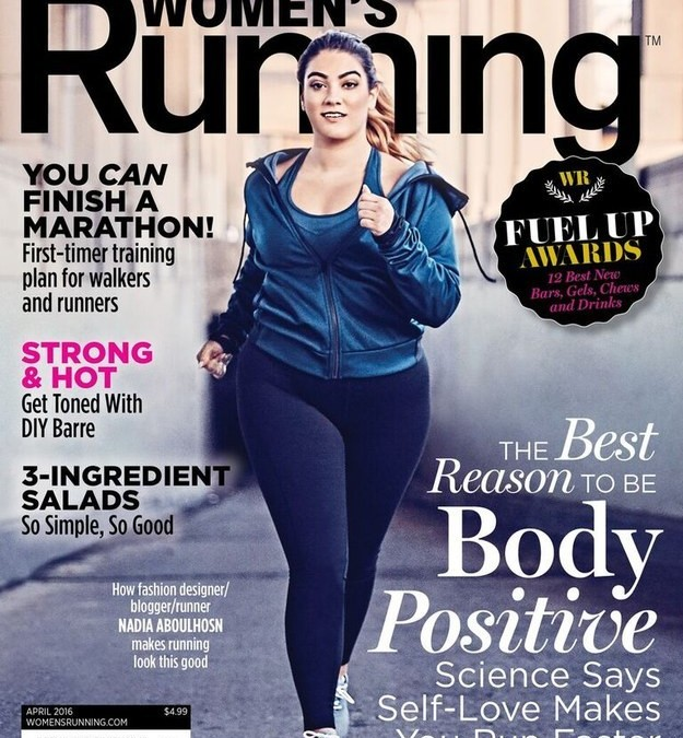 This Plus Size Model Shows That Every Body Can Be A Runner's Body