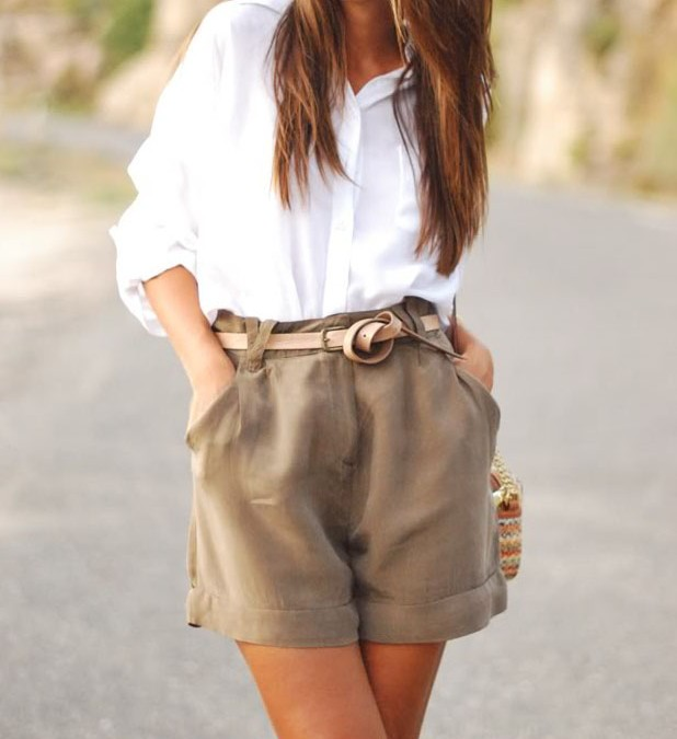 1 White Shirt, 9 Outfit Ideas