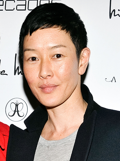 "NEW YORK, NY - MARCH 05: Jenny Shimizu attends the ""Dukes Of Melrose"" Premiere at 583 Park Avenue on March 5, 2013 in New York City. (Photo by Daniel Zuchnik/FilmMagic)"