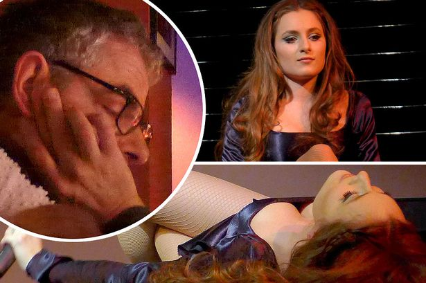 OMG! Rowan Atkinson falls asleep as he watches his scantily-clad daughter, in jaw-dropping cabaret show!