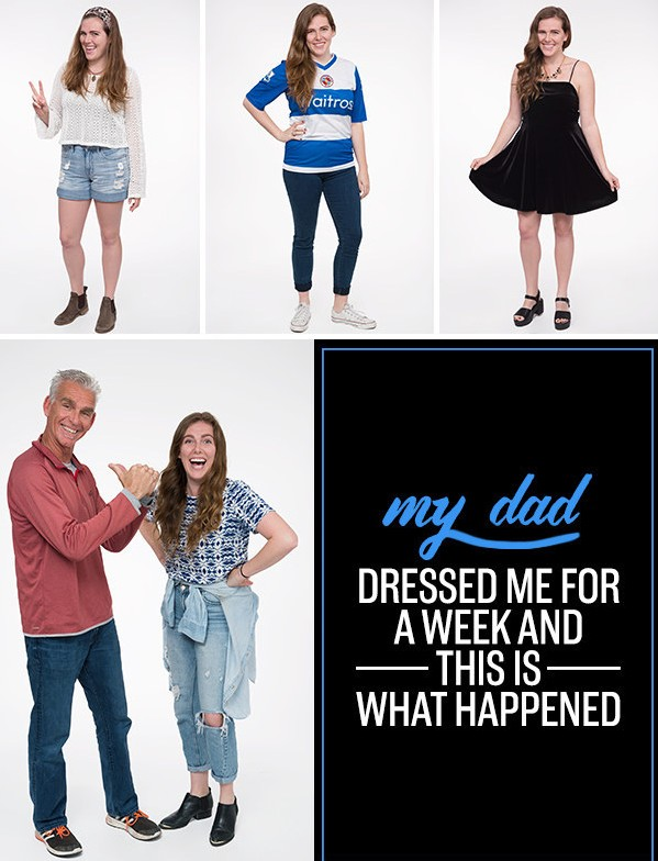 Her Dad Picked Out Her Outfits For A Week And Here's What Happened!