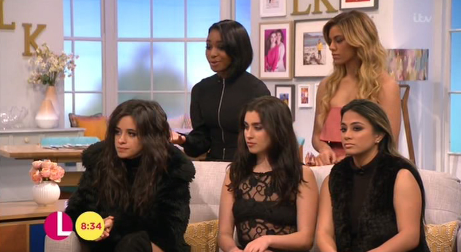 Fifth Harmony were interviewed by Amanda during her last day as host