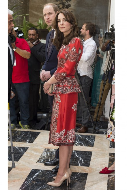 A Closer Look At Duchess Kate's India tour wardrobe