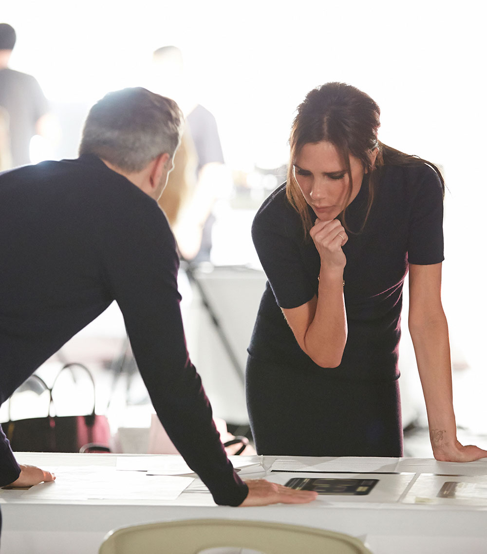 Estee Lauder: Collaboration With Victoria Beckham