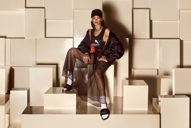 Rihanna Sandal Designs for Puma to Be Released Friday