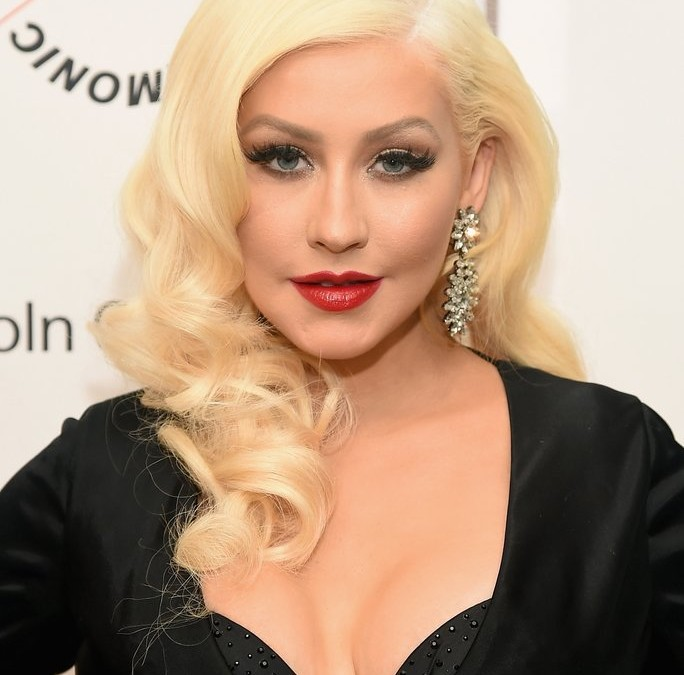 Christina Aguilera's Latest Updo Is Pure Magic