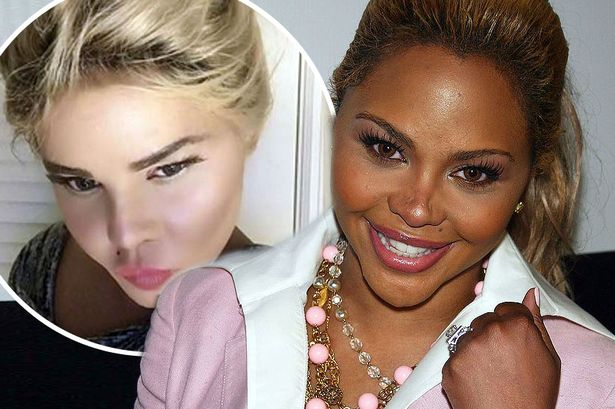 Lil' Kim Looks Unrecognisable With Pale Skin And Blonde Wig In Shocking New Photos