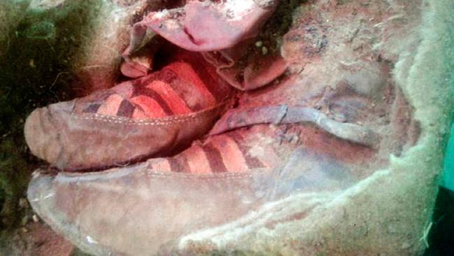 Scientists discover 1,500-year-old Mongolian mummy 'wearing Adidas boots'
