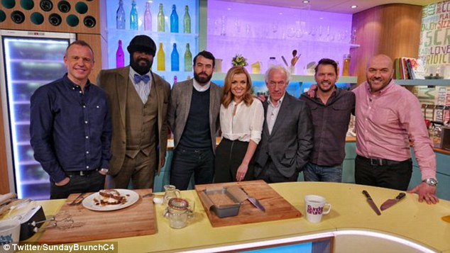 Katherine Jenkins Almost Vomits On Sunday Brunch After Beer Drinking Segment