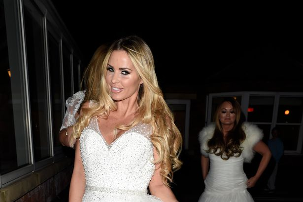 Katie Price Is Back In A Wedding Dress And Looking Like A Bride Again