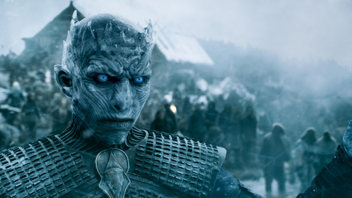 At the end of episode eight, members of the Night's Watch and the wildlings were suprised by a White Walker attack on Hardhome. Though many managed to flee on ships, including Jon Snow, the Wildling community north of the Wall was decimated, with all of the deceased being resurrected to serve in the Army of the Dead. Credits: HBO