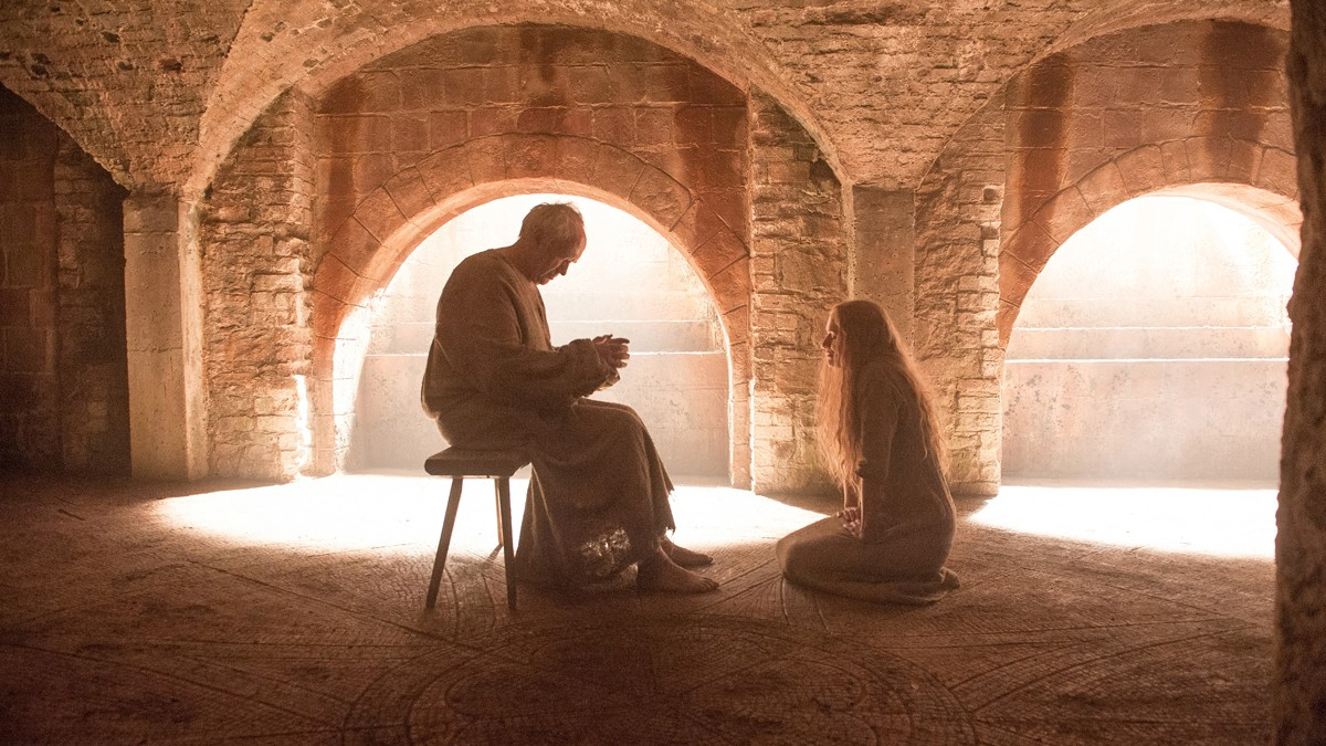 In what some saw as a welcome turn of events, the Faith Militant turned on and imprisoned Cersei Lannister, after she instated the High Sparrow as high scepton in a ploy to have her daughter-in-law (the queen) and her brother arrested. After Cersei confessed to one of several charges brought against her, she was allowed to return to the Red Keep - once she atoned for her sins by walking naked and barefoot through streets crowded with hecklers. Credits: HBO