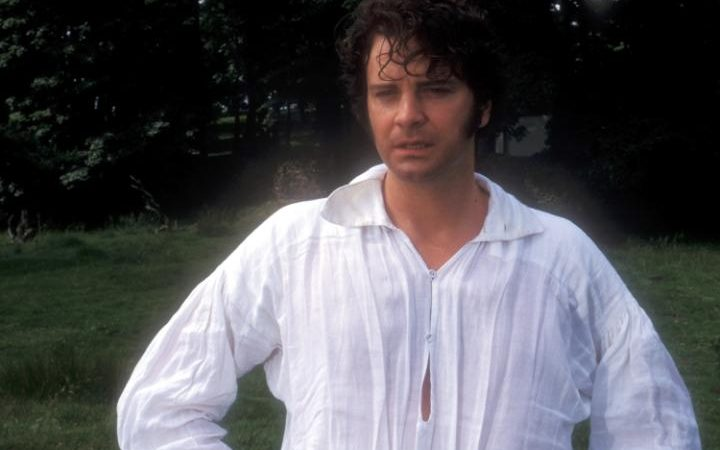 Colin Firth in Pride and Prejudice