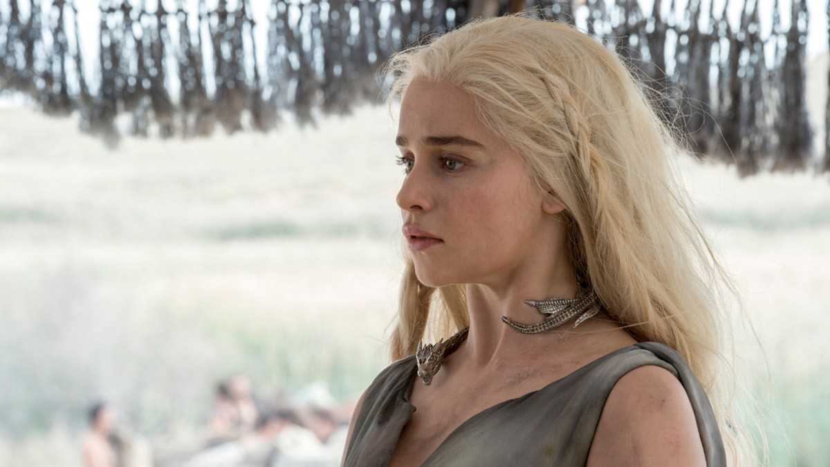 Daenerys Targaryen (Emilia Clarke) appears to be alive and well, if a little grubby. Credits: HBO