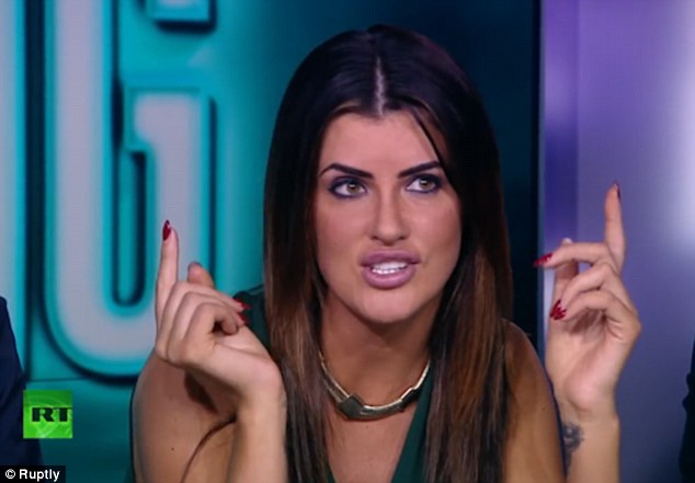 Former prostitute Helen Wood has opened up about her infamous threesome with footballer Wayne Rooney - branding the other woman who sold their story to a Sunday newspaper for a reported £15,000 a 'stupid s**g'
